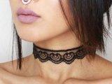 Black Sexy Lace Choker - MilennialShoppe.com